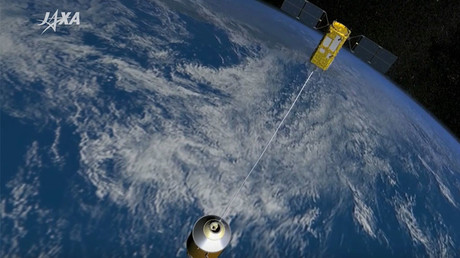Japan launches space junk collector into orbit