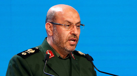 Iranian Defence Minister Hossein Dehghan. ©Sergei Karpukhin