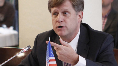 McFaul's Follies: One failed diplomat's misguided attempt to destroy Russia-US relations