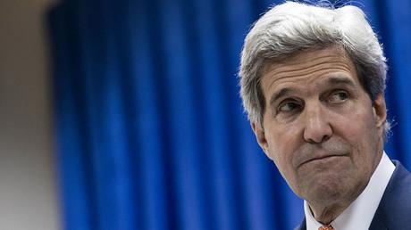 U.S. Secretary of State John Kerry. ©Brendan Smialowski