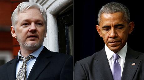 WikiLeaks founder Julian Assange, U.S. President Barack Obama © Peter Nicholls, Kevin Lamarque
