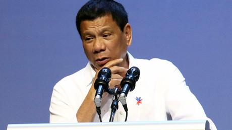 Philippines President Rodrigo Duterte © Y.T. Lim