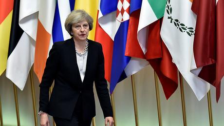 Britain's Prime Minister Theresa May © Eric Vidal