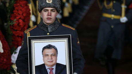 Russian ambassador assassinated in Ankara
