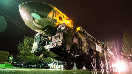 Russian RT-2PM 'Topol' intercontinental ballistic missile launcher © Ramil Sitdikov