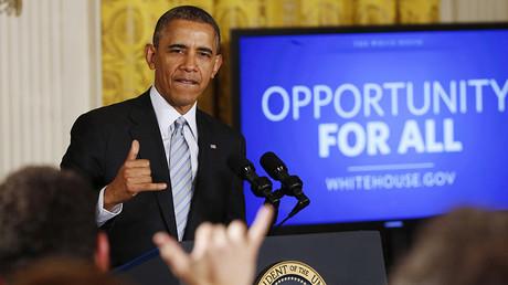 U.S. President Barack Obama © Kevin Lamarque / Reuters