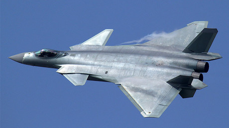 Flypast of the Chengdu J-20 during the opening of Airshow China in Zhuhai © Alert5