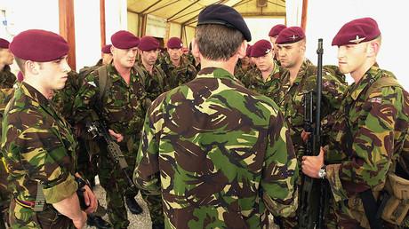 British Parachute Regiment soldiers. File photo. © Reuters