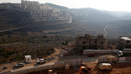 A general view shows a construction site in the Israeli settlement of Efrat, in the occupied West Bank December 22, 2016. © Baz Ratner