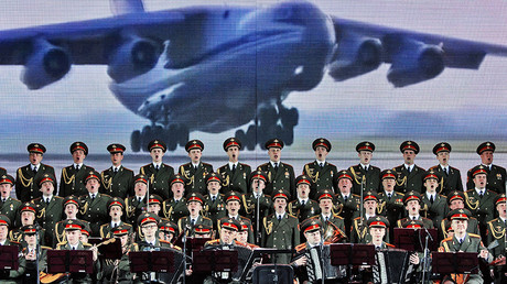 The Aleksandrov Song and Dance Ensemble of the Russian Army  © Viktor Tolochko
