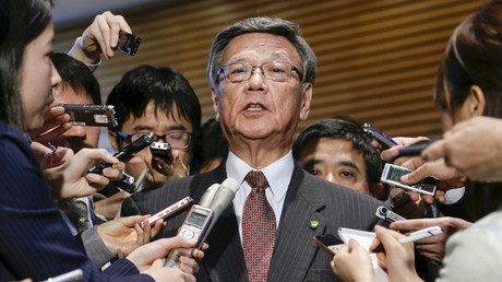 Okinawa Governor Takeshi Onaga © Kimimasa Mayama