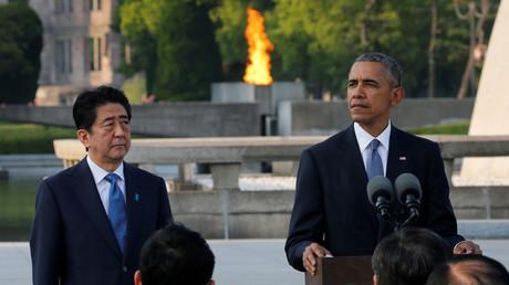 U.S. President Barack Obama (R) and Japanese Prime Minister Shinzo Abe © Carlos Barria