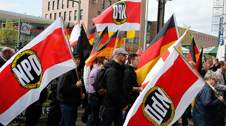 FILE PHOTO: Supporters and members of the far-right National Democratic Party (NPD)  © Fabrizio Bensch
