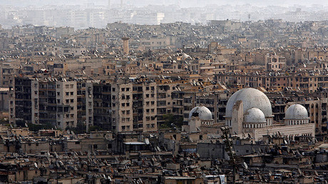 FILE PHOTO: A general view of Aleppo city, Syria. © Omar Sanadiki