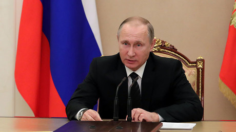 President Vladimir Putin. ©Michael Klimentyev