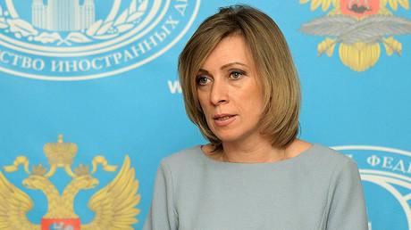Russian Foreign Ministry Spokesperson Maria Zakharova ©  Grigoriy Sisoev