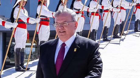 Greek ambassador to Brazil, Kyriakos Amiridis © Marcos Correa / Braziian Presidency