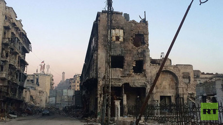 Scenes of destruction in Aleppo and Homs as seen by RT correspondent in Syria