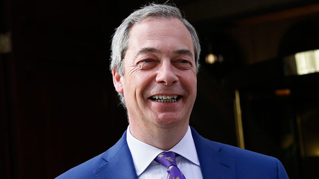 United Kingdom Independence Party (UKIP) interim leader Nigel Farage © Stefan Wermuth