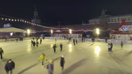 Feel the spirit of Christmas! (in 360°): One night in Moscow