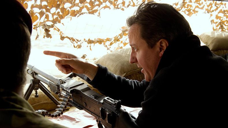 Boris Johnson David Cameron