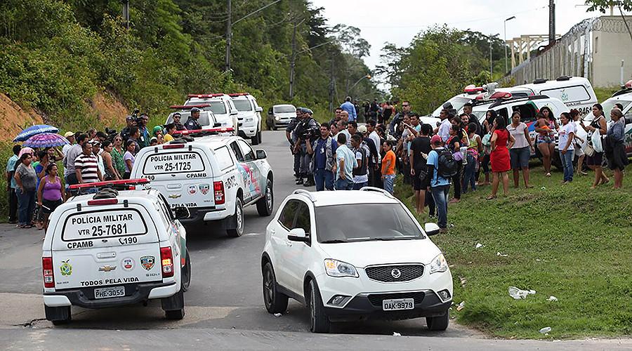 60 dead, hundreds escape in Brazil prison riot