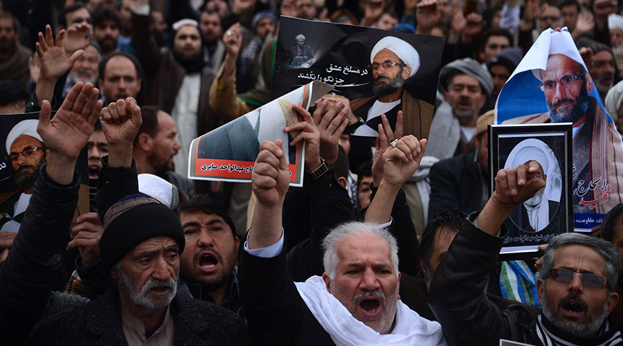 'Death to Daesh!' Thousands protest against ISIS in western Afghanistan (PHOTOS)