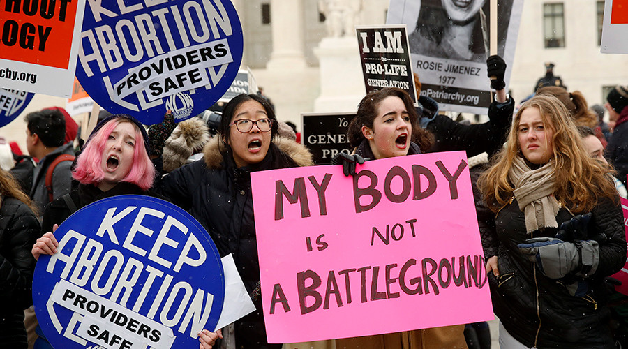 Pro-choice nation: Nearly 70 percent of Americans favor Roe v Wade