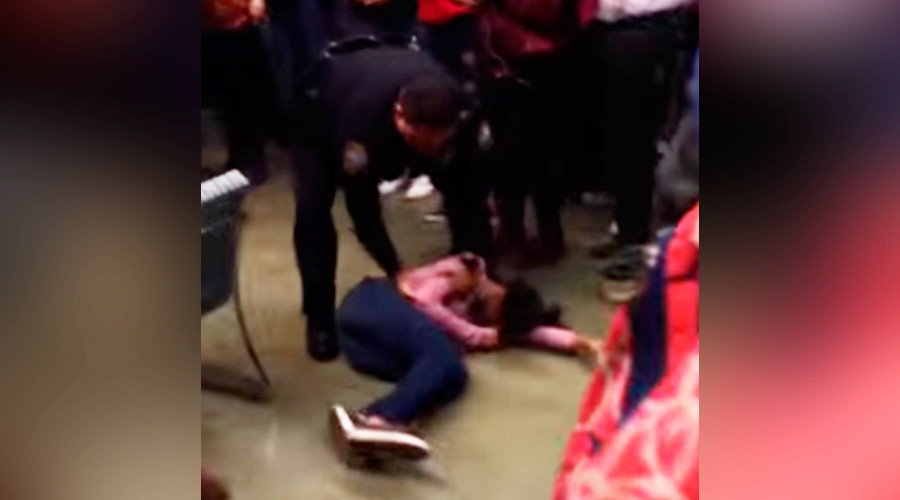 'Disturbing use of force': NC officer slams high school girl (VIDEO)