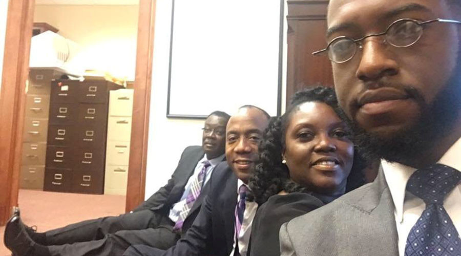 NAACP president arrested protesting Trump's attorney general pick's 'abysmal civil rights record'
