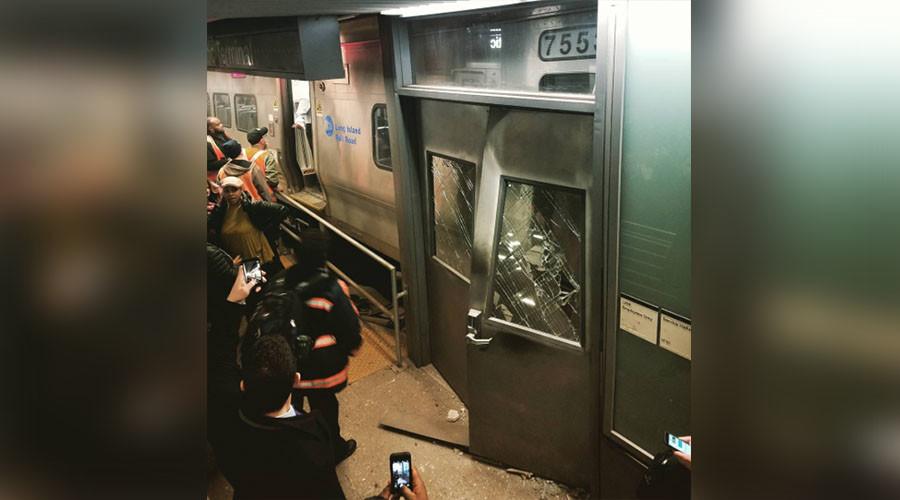 103 injured in train derailment at Brooklyn's Atlantic Terminal (VIDEOS, PHOTOS)