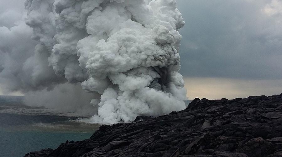 Massive segment of famous Hawaiian island collapses into the ocean (VIDEOS)
