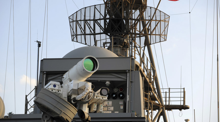 UK MoD awards contract to Dragonfire consortium to build laser weapon