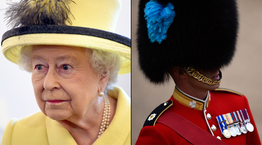 Queen almost shot by startled guardsman during 3am stroll