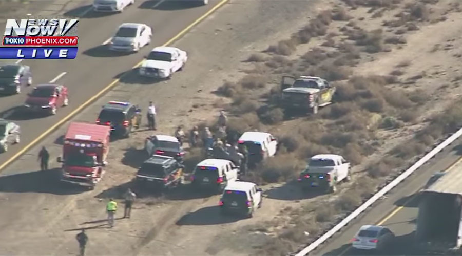 Naked woman steals police vehicle, high speed chase ensues