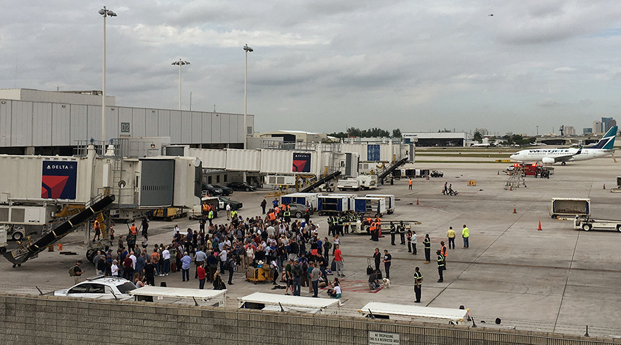 Thousands stranded at Florida airport after mass shooting