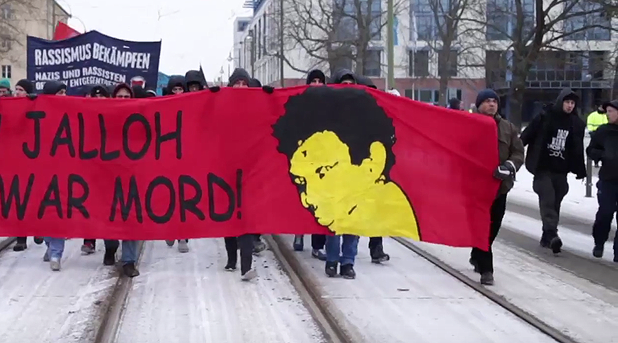Over 1,000 march in memory of asylum-seeker killed by fire in German Police custody