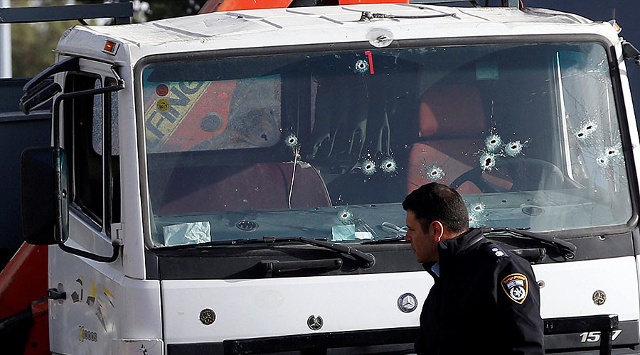 Footage of deadly Jerusalem truck attack appears online (GRAPHIC VIDEO)