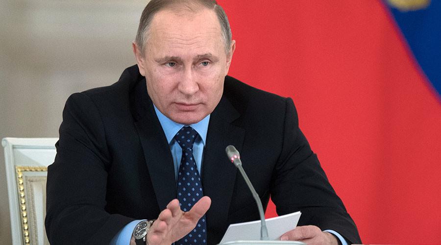 Putin orders lending rate slashed for Russian regions