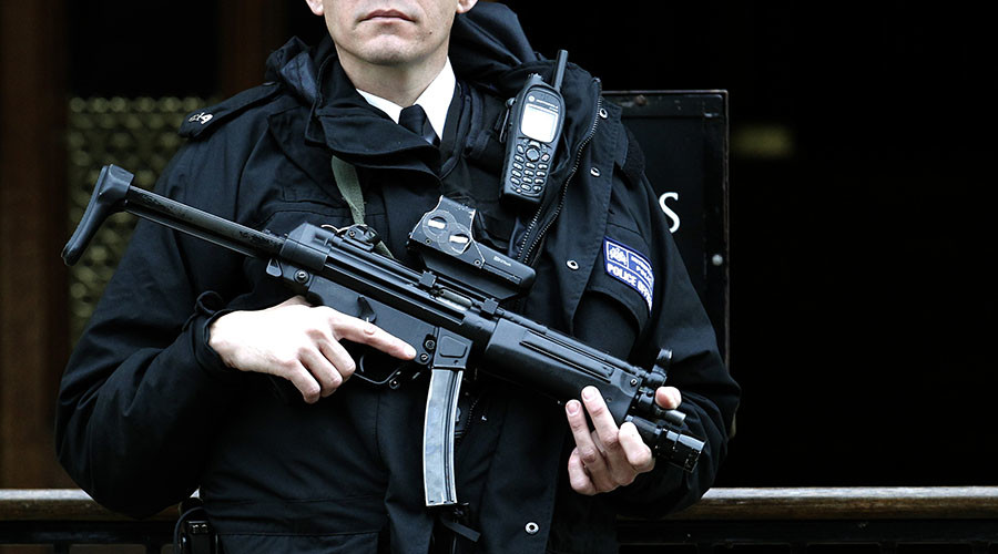 'Would you like to carry a gun?' British police asked