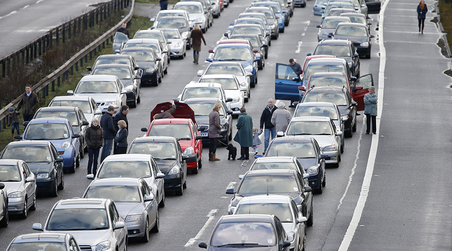 England's booming population spells commuter hell for drivers