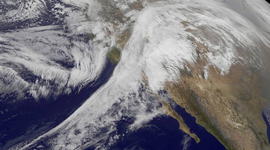 Terrible splendor: NASA captures Iras snowstorm from space in amazing animation