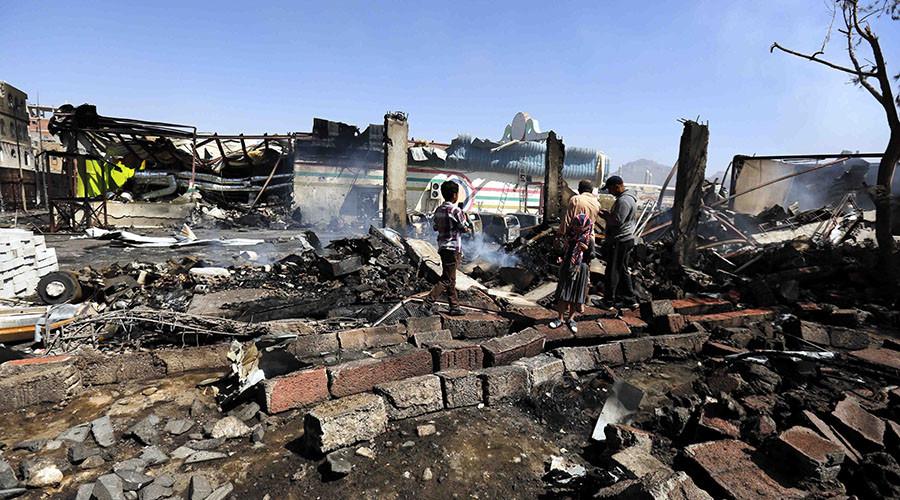 Children killed in Saudi-led airstrike on school in Yemen – reports