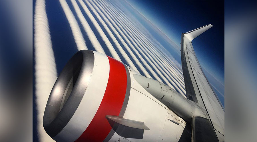 Morning glory: Incredible rare wave clouds as seen from above (PHOTO)