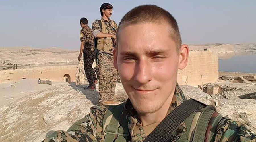 Body of British chef killed fighting ISIS in Syria recovered from battlefield