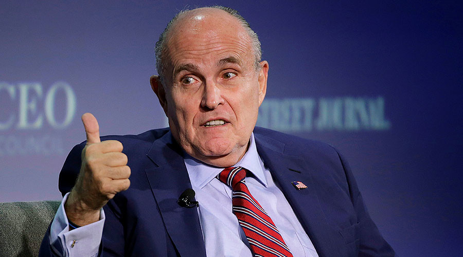 Giuliani to advise Trump on cyber security as 'trusted friend'
