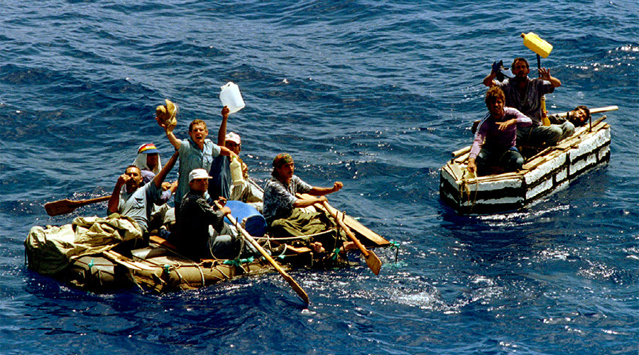 'Same way we treat other migrants': Obama ends 'wet foot, dry foot' Cuban immigration policy