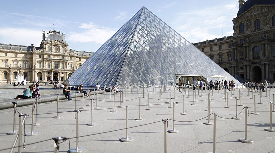 'Free the Louvre': Climate art activists target Parisian museum over oil money ties