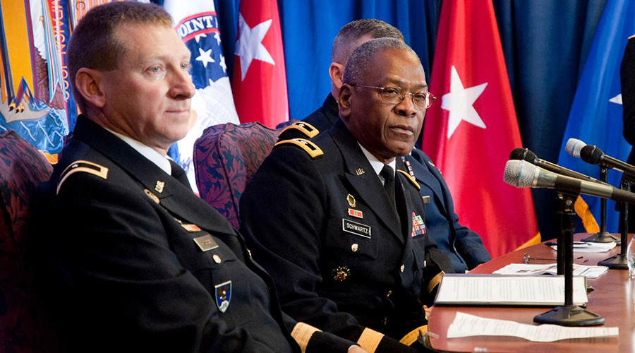 Mystery order: Troops providing inauguration security to lose commanding general mid-ceremony
