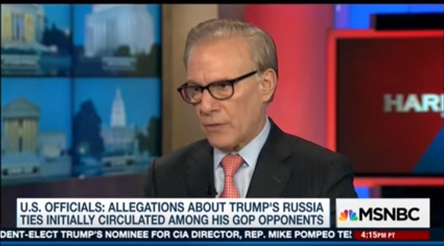 'Election campaign summary?' Glitch leads to MSNBC's WaPo guest repeating 'Russia' on loop